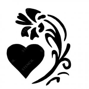 TR-10003 Stencil Tattoo Self adhesive Stencils Face Painting Design Decoration Cherry Food eimpression.ca