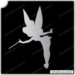 TR-1003 Stencil Tattoo Self adhesive Stencils Face Painting Design Decoration fairy Glitter