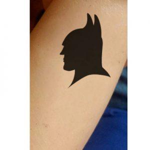 TR-1012 Powerful Bat Stencil Pochoir pour Tatouage Auto-adhésifs pour Visage Peinture Design Décoration