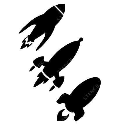 TR-1021 Stencil Tattoo Self adhesive Stencils Face Painting Design Decoration Space