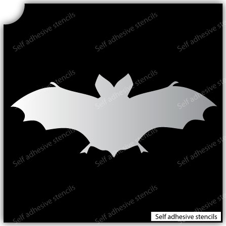 TR-1024 Stencil Tattoo Self adhesive Stencils Face Painting Design Decoration Bat