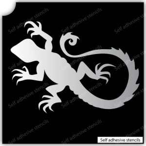 TR-2002 Lezard TR-2001 Scorpion Stencil Tattoo Self adhesive Stencils Face Painting Design Decoration