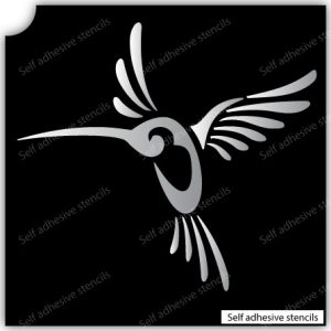 TR-3002 Stencil Tattoo Self adhesive Stencils Face Painting Design Decoration