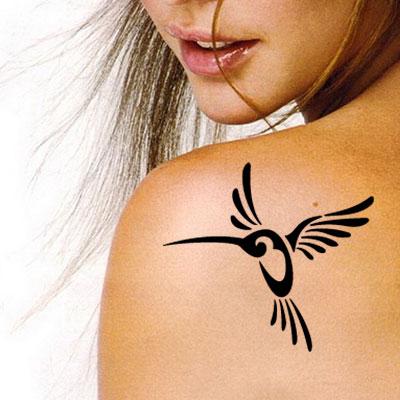 TR-3002 Stencil Tattoo Self adhesive Stencils Face Painting Design Decoration
