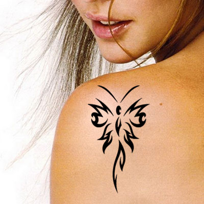 TR-4003 Stencil Tattoo Self adhesive Stencils Face Painting Design Decoration