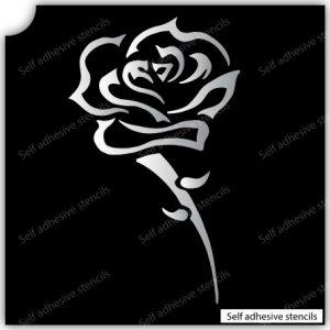 TR-8006 Stencil Tattoo Self adhesive Stencils Face Painting Design Decoration Flower eimpression.ca